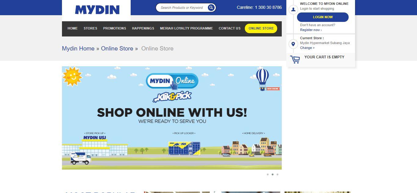 Mydin e-commerce
