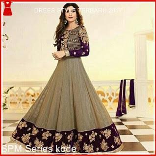 6SPM Gaun Dress Wanita Elegance Sonia Murah Bj5006