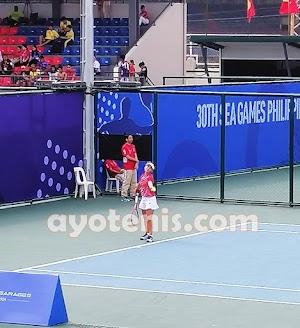 Tenis SEA Games 2019: Kejutan ! Tumbangkan Unggulan Pertama, Priska Persembahkan Medali bagi Indonesia