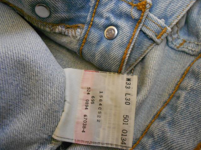 1eacc3c09b0 2. Benang perak dekat label tag tu kalau diperhati betul-betul, ada  perkataan LS & CO. Dekat tag tu pulak akan ada tulis style code (tapi kalau  jeans lama ...