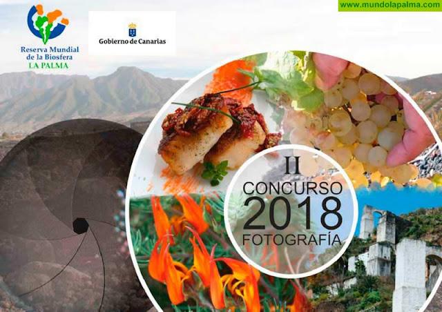 II Concurso de Fotografía y el I Concurso Spot Publicitario de la Fundación Canaria Reserva Mundial de la Biosfera La Palma