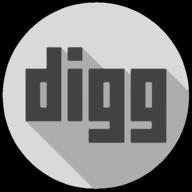 digg whiteout icon