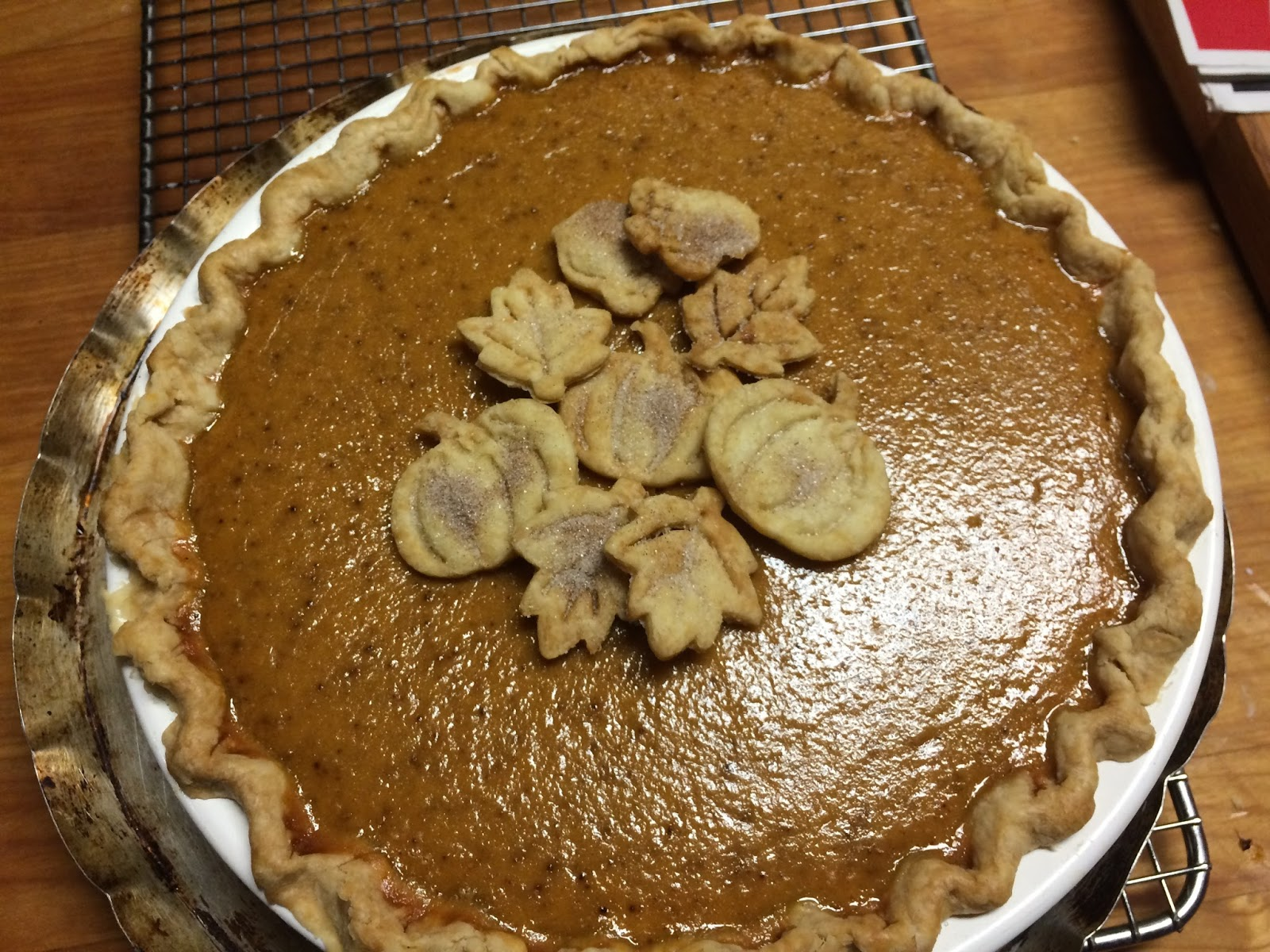 Cooking with Barry & Meta: Traditional Pumpkin Pie made
