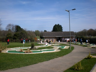Basingstoke Golf Centre's new Mini Golf course