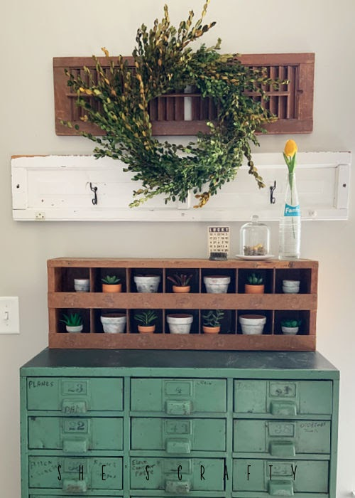 How to style thrifted finds in home decor