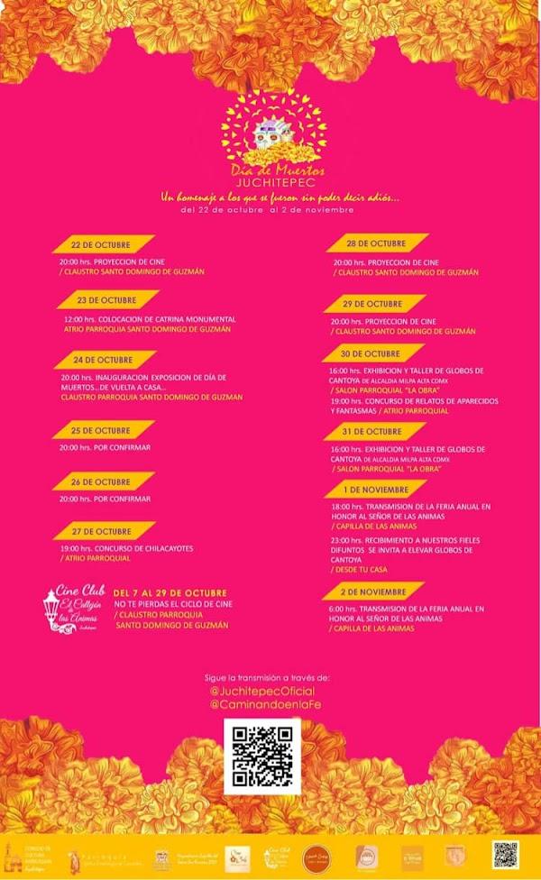programa festival muertos juchitepec 2021