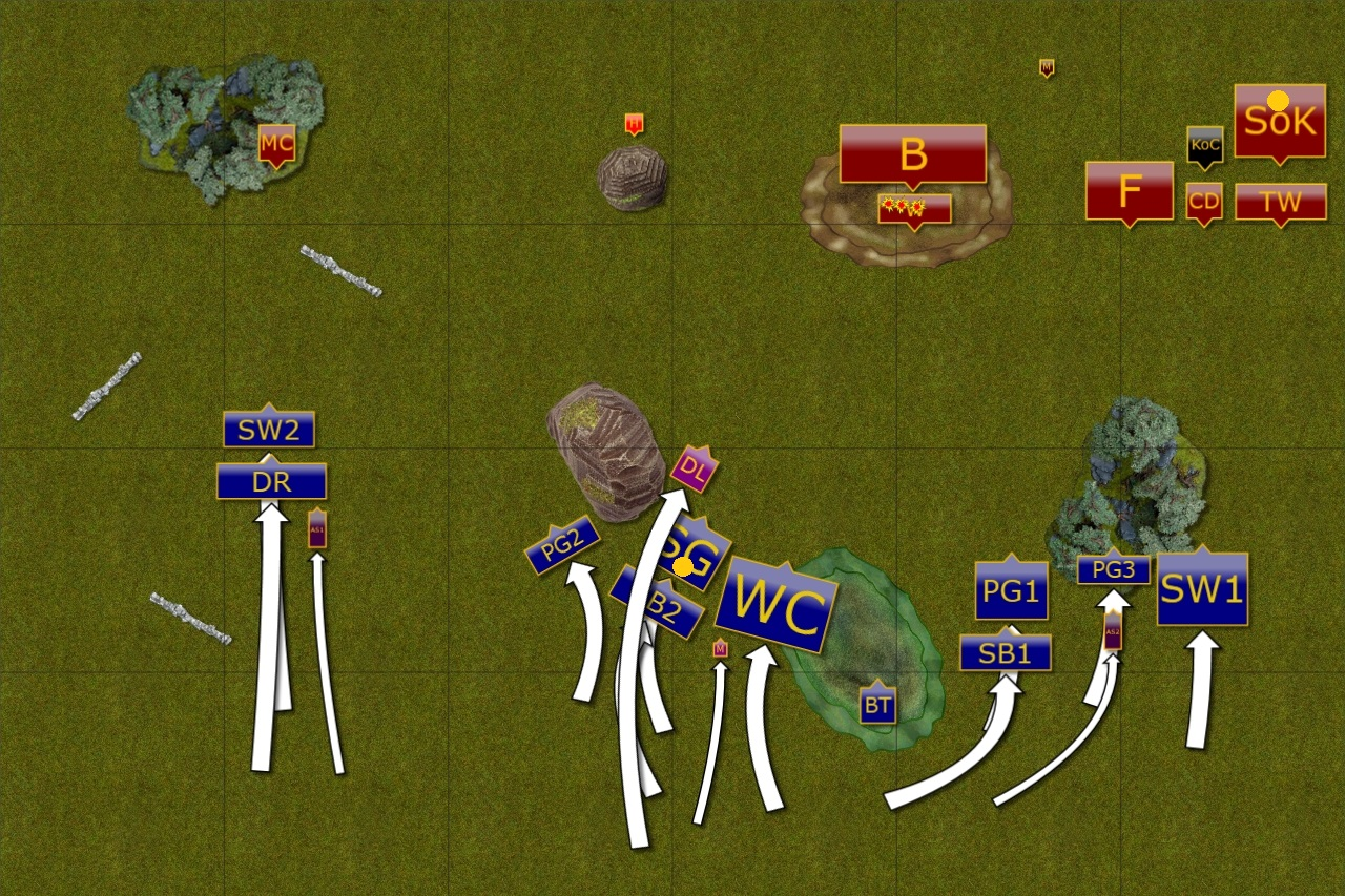 Path of an Outcast: KoW - 3d6 October - Game 3 - Varangur