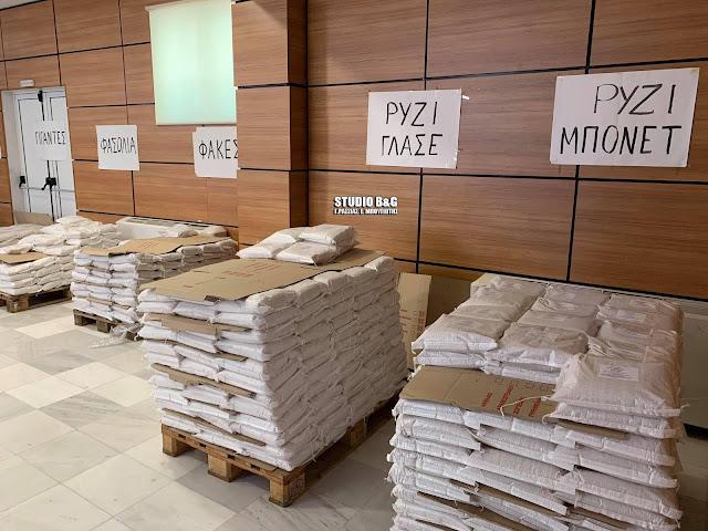 Ξεκίνησε η διήμερη διάθεση προϊόντων από το Εργατικό Κέντρο Ναυπλίου - Ερμιονίδας (βίντεο)