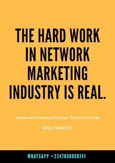 THERE'S NO EASY WAY TO BE SUCCESSFUL IN NETWORK MARKETING BUSINESS