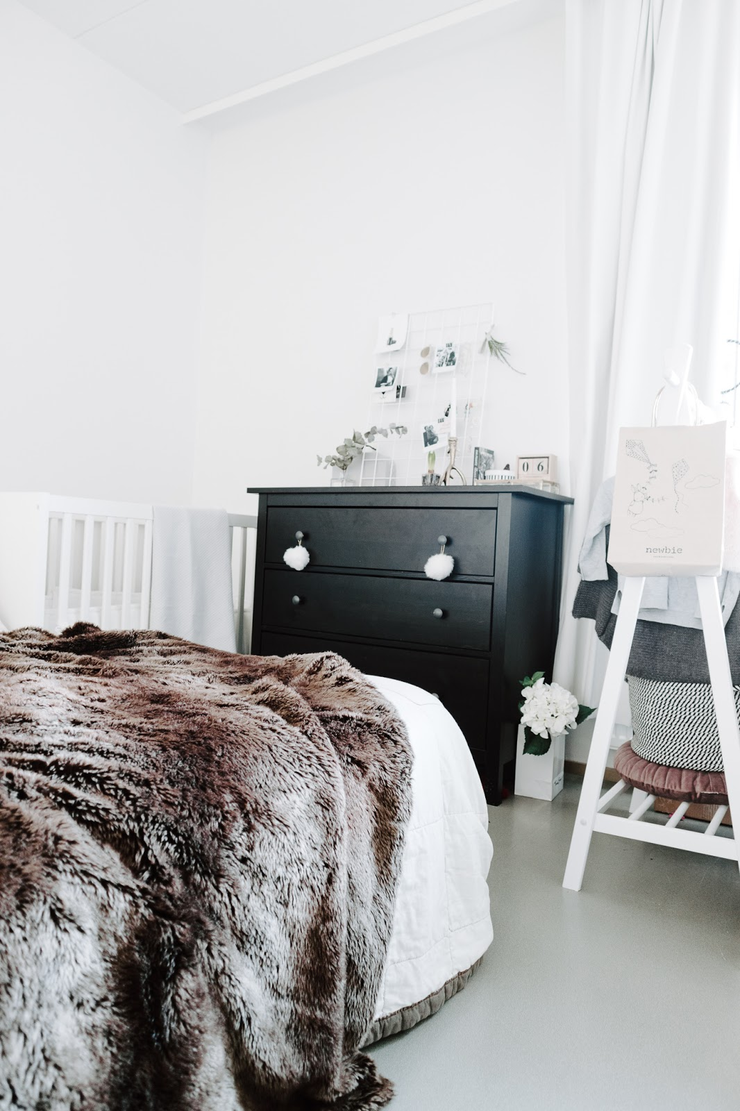 makuuhuone, sisustus, sisustushaaveet, koti, kaksio,