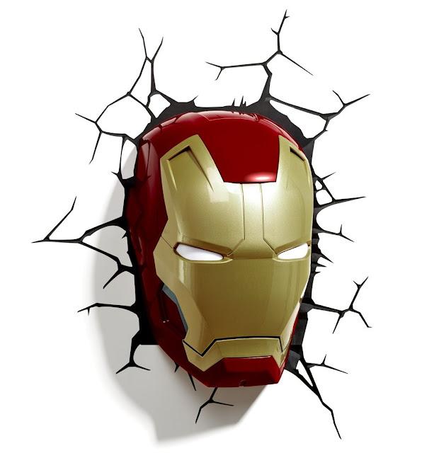 Iron Man Wandleuchte