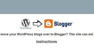 Migrasi Konten Blogger: Cara Memindahkan Isi Blog WordPress ke Blogspot
