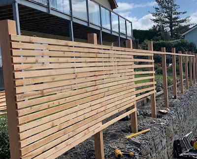 Cedar fencing Wales