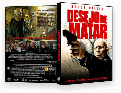 Desejo De Matar 2018 Dublado DVD-R – CAPA DVD