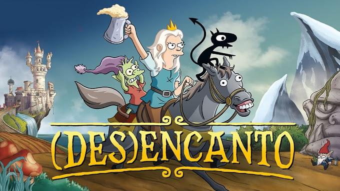 Desencanto Temporada 1-2-3  en Español Latino - Ingles HD (2021)
