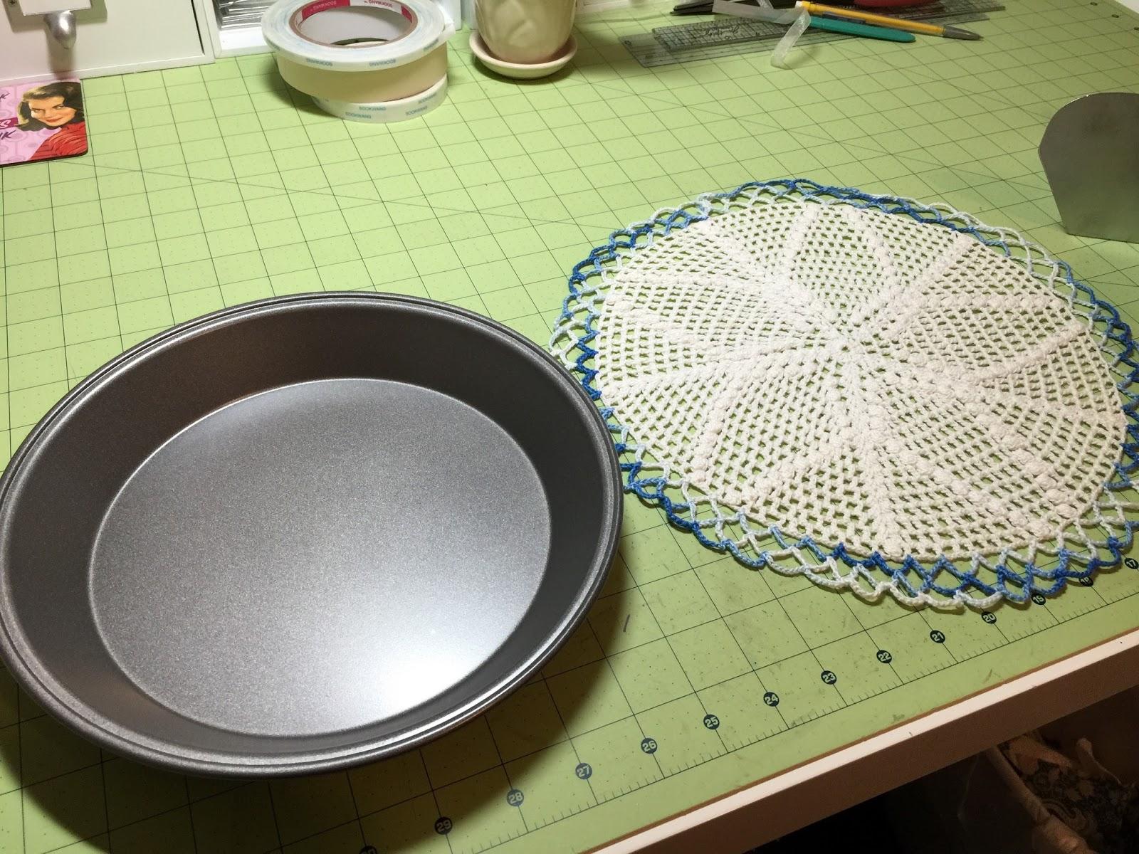 A Creative Operation Pie Plate Lazy Susan