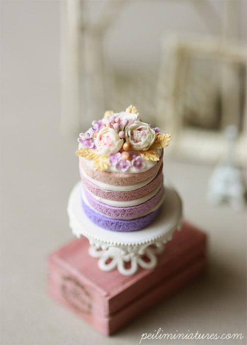 Ombre Purple Cake Recipe