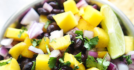 Summer Mango, Black Bean & Corn Salsa