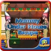 Play SiviGames Mummy Under House Escape