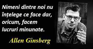 Maxima zilei: 3 iunie - Allen Ginsberg