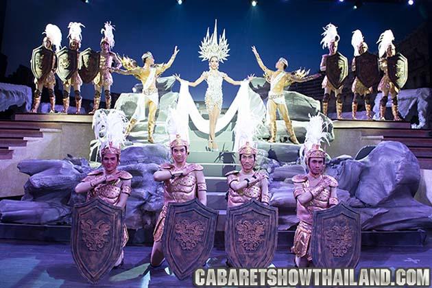 โคลีเซี่ยม คาบาเร่ต์ พัทยา สุดยอการการแสดง คาบาเรต์ โชว์