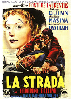 An early publicity poster for the De  Laurentiis production La Strada