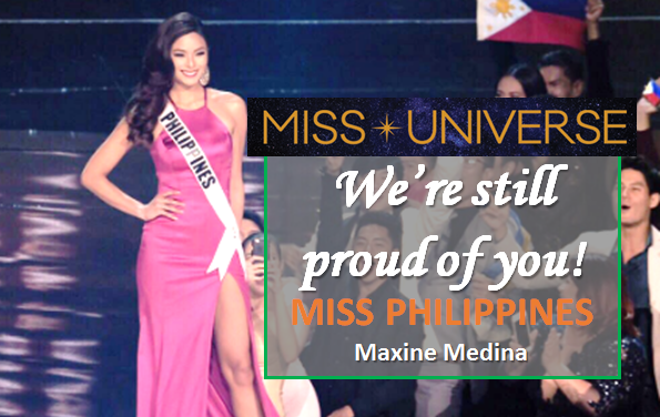 Miss Philippines Maxine Medina out of Miss Universe Top 3