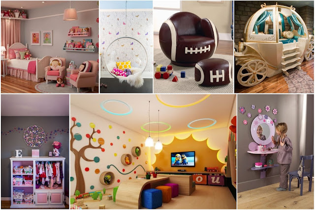 Decorations And Games For Rooms Of Little Girls