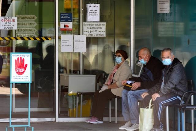 Nem csökken a fertőzöttek száma a Nyugat-Balkánon