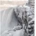 Zaleđeni Nijagarini vodopadi na minus 34 stepena