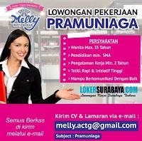 Lowongan Kerja Surabaya di Melly Roti dan Kue Juli 2020