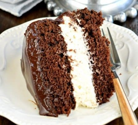 Ding Dong Cake #desserts #chocolate