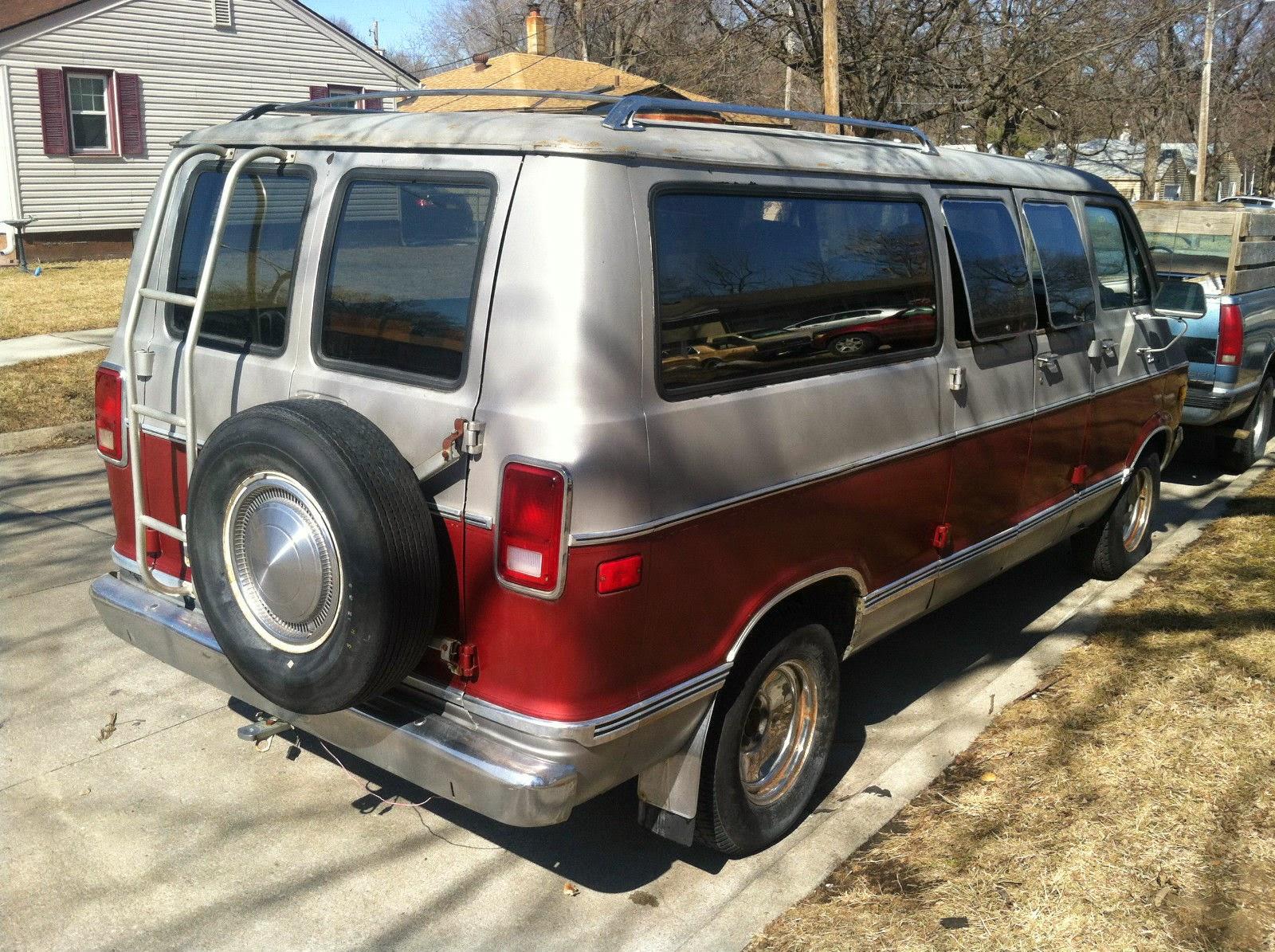 All American Classic Cars: 1978 Dodge Van B200 Tradesman