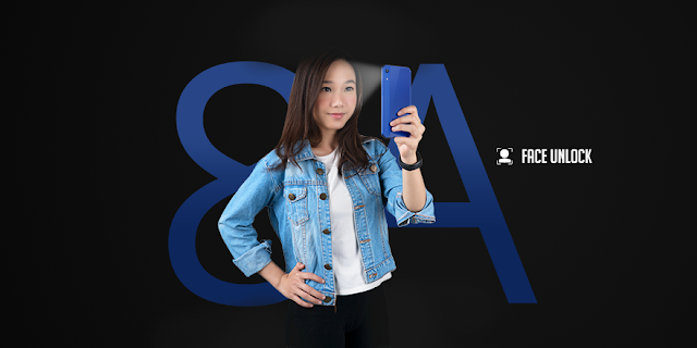 honor 8a smartphone murah