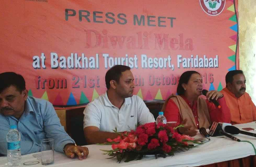 Diwali Mela at Haryana Tourist Complexed from 21-24 October