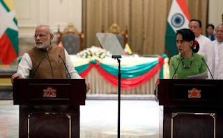MoU signed between India and Myanmar
