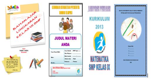 Kumpulan Sampul Cover Perangkat Pembelajaran Yang Indah Dan Menawan Kherysuryawan Id