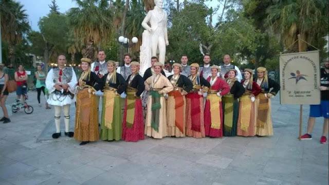 """Η """"Αράπιτσα"""" με 35 μέλη στο Ναύπλιο για το 3ο Φεστιβάλ Παραδοσιακών χορών"""