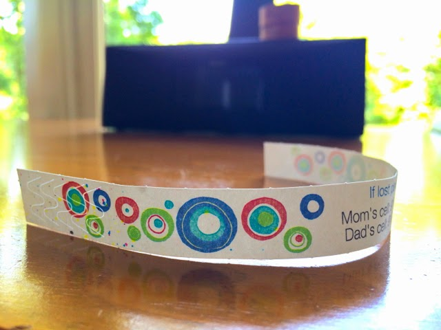 Id Bands For Kids With Special Needs A Cool New Find
