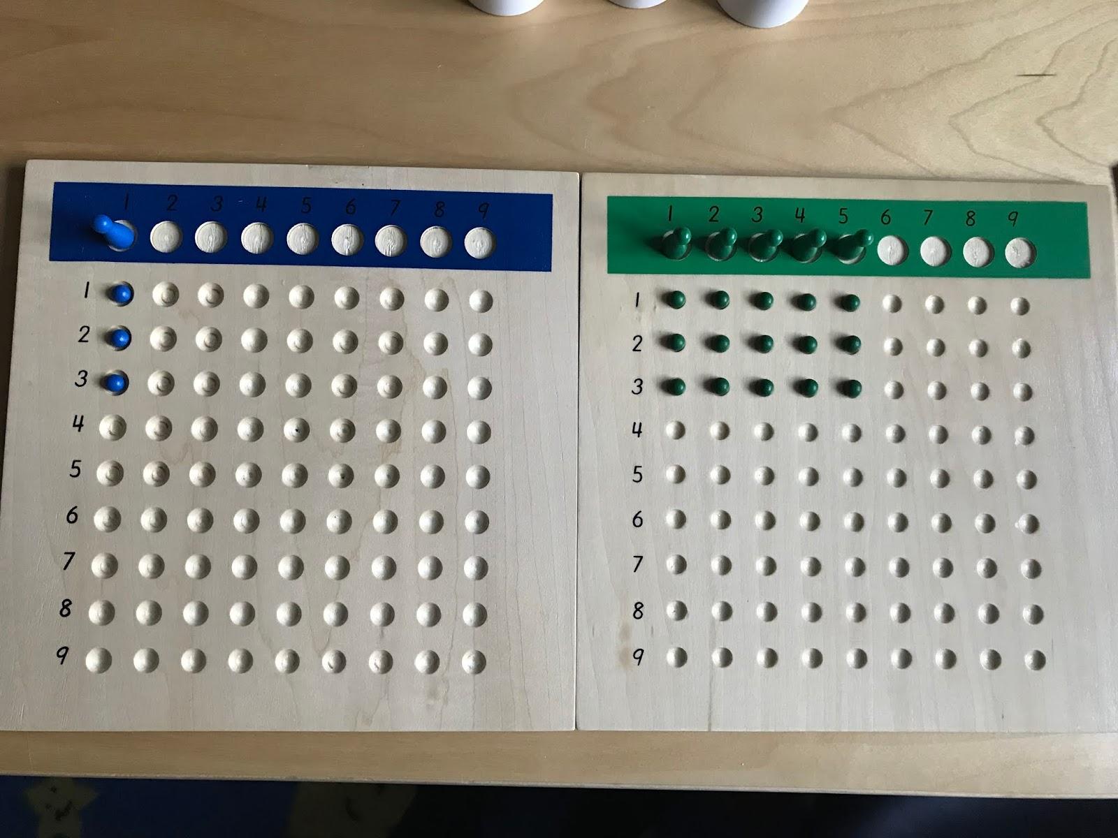 Family Fecs Montessori Activity Long Division With Racks