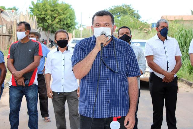 Prefeitura de Buritirana inicia perfuração de mais um poço na Vila Alto Bonito!!!