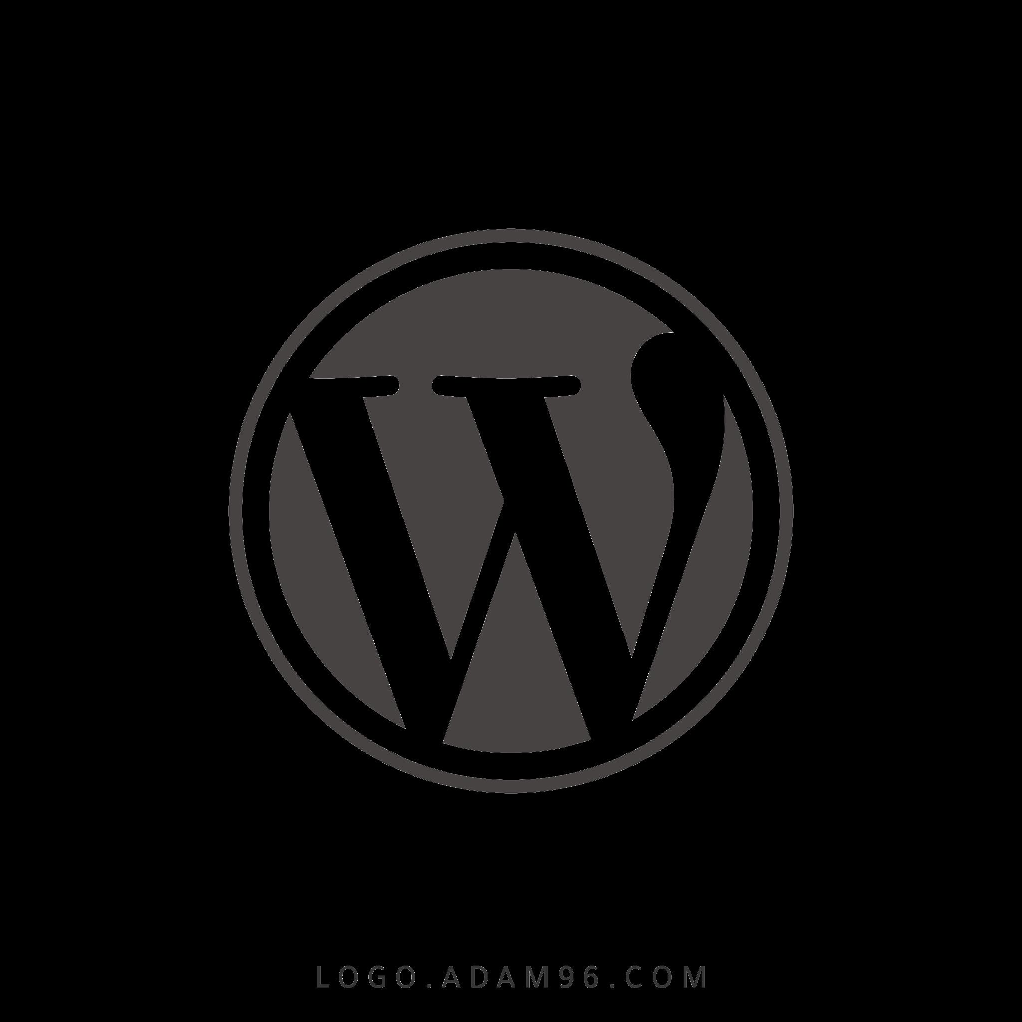 تحميل شعار ووردبريس   Logo Wordpress