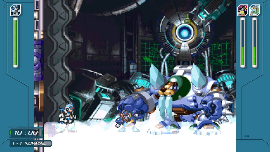 mega man x legacy collection x challenge