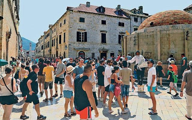21 εκατομμύρια τουρίστες υποδέχθηκε η Κροατία το 2019!