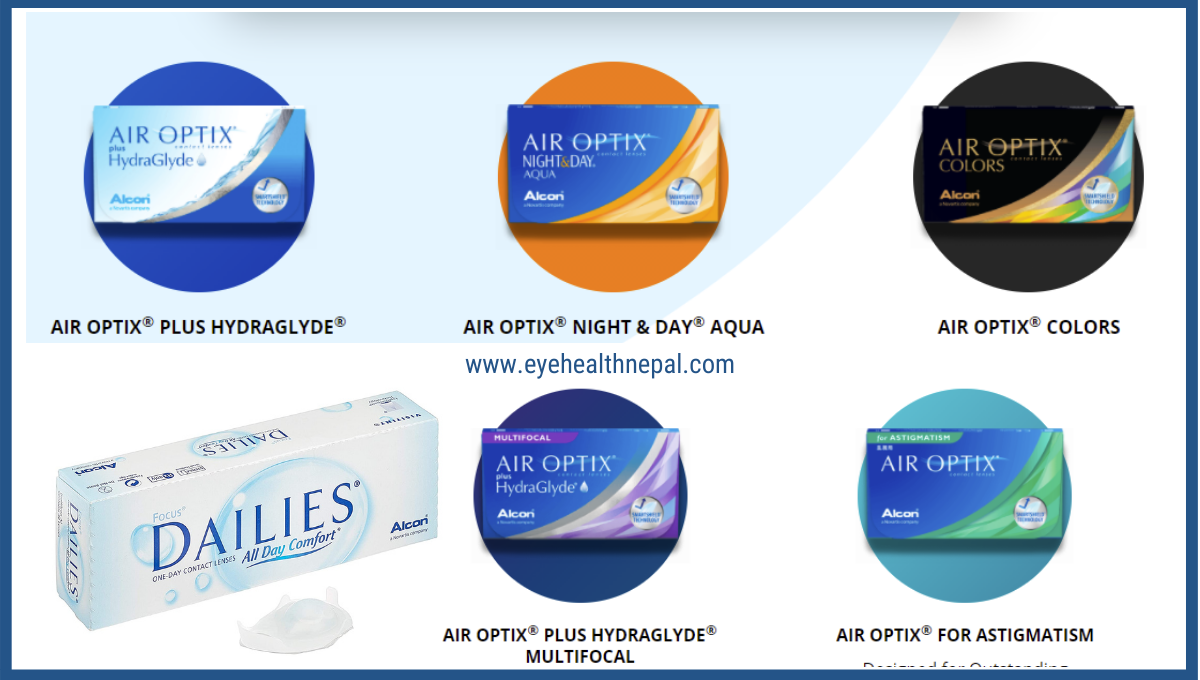 Alcon Contact Lens Products