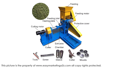 Fish Feed Manufacturing Machine features