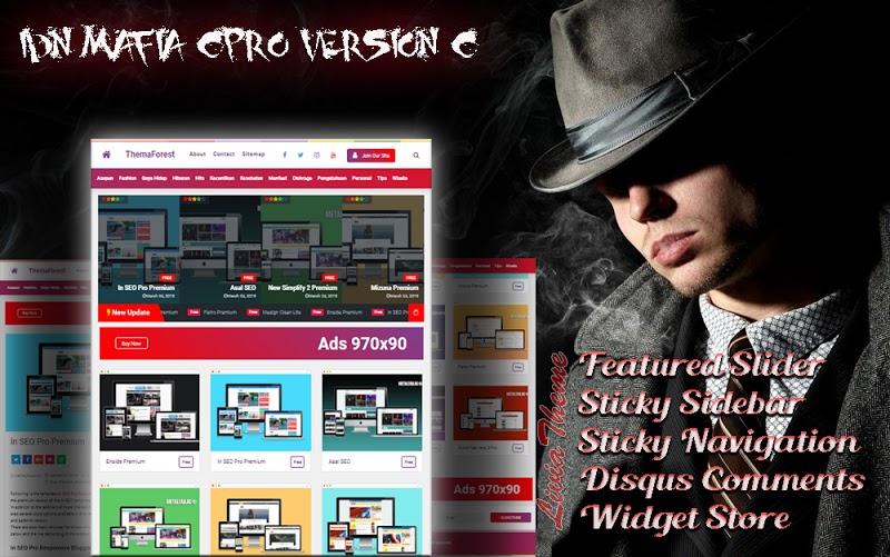 IDN Mafia CPro Redesign Responsive Blogger Template