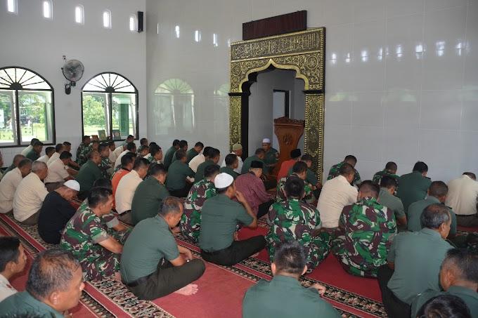 Sambut Tahun Baru 2020, Korem 071/Wijayakusuma Gelar Doa Bersama.