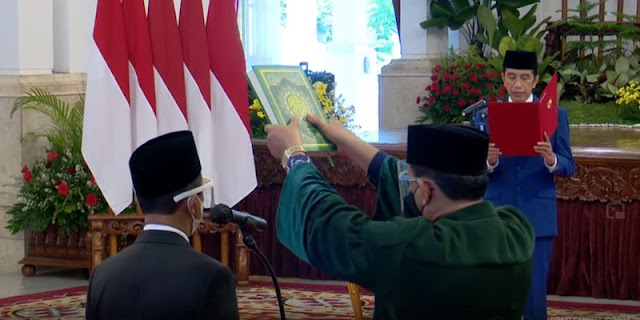 Resmi, Jokowi Hanya Lantik Nadiem, Bahlil, Dan Tri Handoko