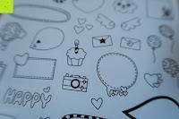 Sticker: Zubehör für Fujifilm Instax Mini 8, 12 in 1 Zubehör Bundles Set für Fujifilm Instax Mini 8 Sofortbildkamera Nutzer, enthalten Mini 8 Kamera Tasche/Album Buch/Close-up Lens/Farbfilter/Rectangle Hanging Photo Frame/Cartoon Hanging Photo Frame/Bunte Aufkleber/Watermelon Aufkleber/Fünfzackigen Stern Aufkleber/DIY Mitteilung Aufkleber/rot Umschlagseite Film Aufkleber/blau Umschlagseite Film Aufkleber(Blau)